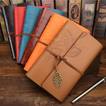 Retro Notebook Diary Notepad Literature PU Leather Note Book Stationery Gifts Traveler Journal Planners Office School Supplies