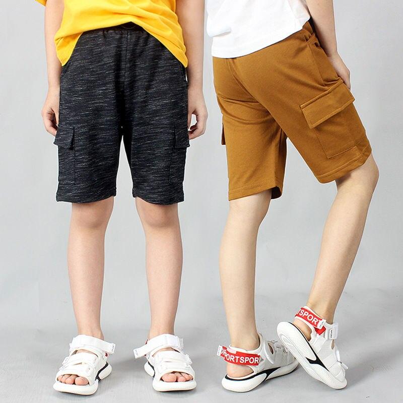 Boys' Casual High-Cotton Shorts