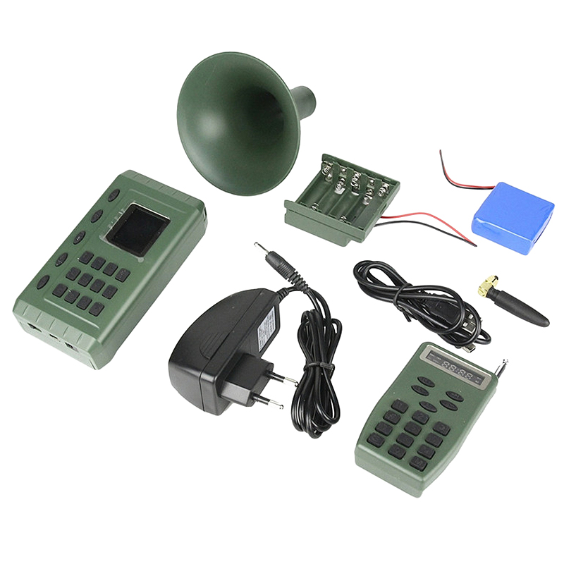 ABLB--Outdoor Hunting Bird Caller Bird Lure Sound MP3 Bird Speaker With 110 Bird Sounds Hunting Decay Speaker EU Plug