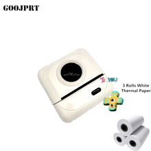 K1 GOOJPRT Mini Portable Bluetooth Wireless Paper Photo Printer Pocket Thermal Printing USB Connection Impresoras Fotos cheap Wired Wireless inkjet Black And White Manual 35ppm 100-240V For Commercial 32MB Universal ticket printer Document Printer