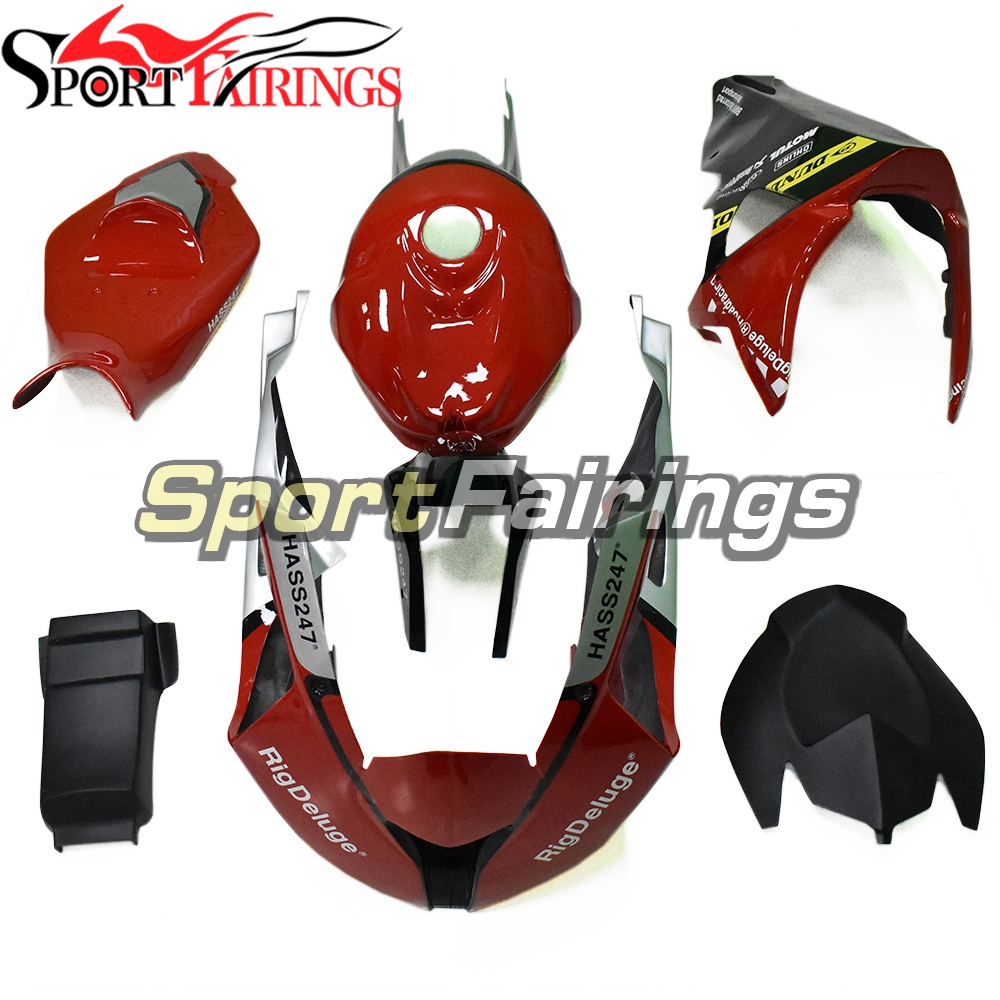 Body Work for BMW S1000RR 2009 2010 2011 2012 2013 2014 Fairings Fiberglass Panels Red Black Silver Body Kits Motorcycle Covers image