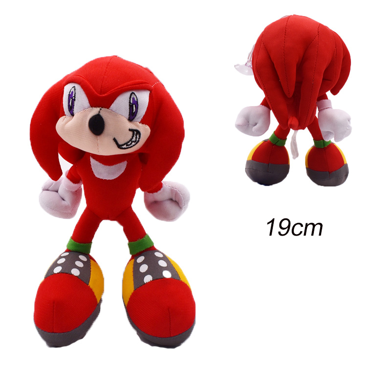 30cm Sonic Plush Doll Toys Hot Sale Sonic Shadow Amy Rose Cotton Soft Stuffed Game Doll Toys For Kids Chris Gift For Kids 2