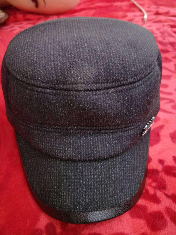 Hat Ushanka Earmuff Cap Winter New-Style Woolen Fashion Mao Lao Duckbill Tou High-End