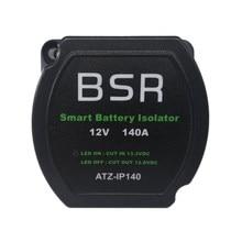 12v 140a tensão de alimentação sensível rachado relé carga inteligente duplo interruptor vsr do isolador da bateria para o carro da caravana marinha rv vans barco