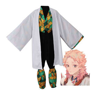 Image 4 - Anime Costume Demon Slayer Cosplay Tanjirou Kamado Cosplay Costume Kimetsu no Yaiba Men Kimono Costume Halloween