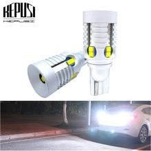 2x W16W T15 LED Bulbs Canbus OBC Error Free LED Backup Light 921 912 W16W LED Bulbs Car Reverse Lamp Xenon White 12V 24V sencart baz15d 7 5w 380lm 5 led white light car backup lamp dc 12 24v 2 pcs