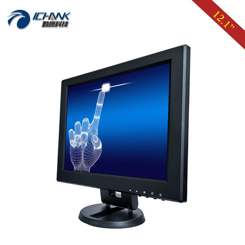 ZB120JC V591/12 pulgadas 800x600 USB HDMI VGA Industrial Médico POS pedido máquina pantalla LCD táctil resistiva Monitor pantalla - 2