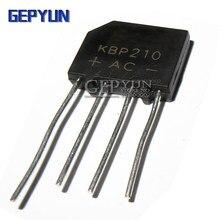 10 pces kbp210 2a 1000v ponte retificador gepyun