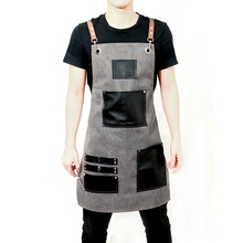 גבוהה באיכות מספרה עובד סינרי אופנה ביתי סינרי מסעדת מטבח Antifouling סינרים Adjustmen בגדי עבודה