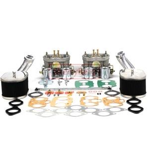 Image 2 - SherryBerg Carburettor CarbชุดสำหรับVW TYPE 1 FAJS HPMX WEBER IDF DUAL 40Mm CARBชุดT1สูงเชื่อมต่อคุณภาพดี40