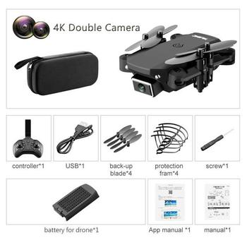 ZITY S66 FPV Mini Drone With Camera HD RC Foldable Drone 4K Professional Wifi Double Camera Drones Quadcopter RC Drone Mini Toys 9