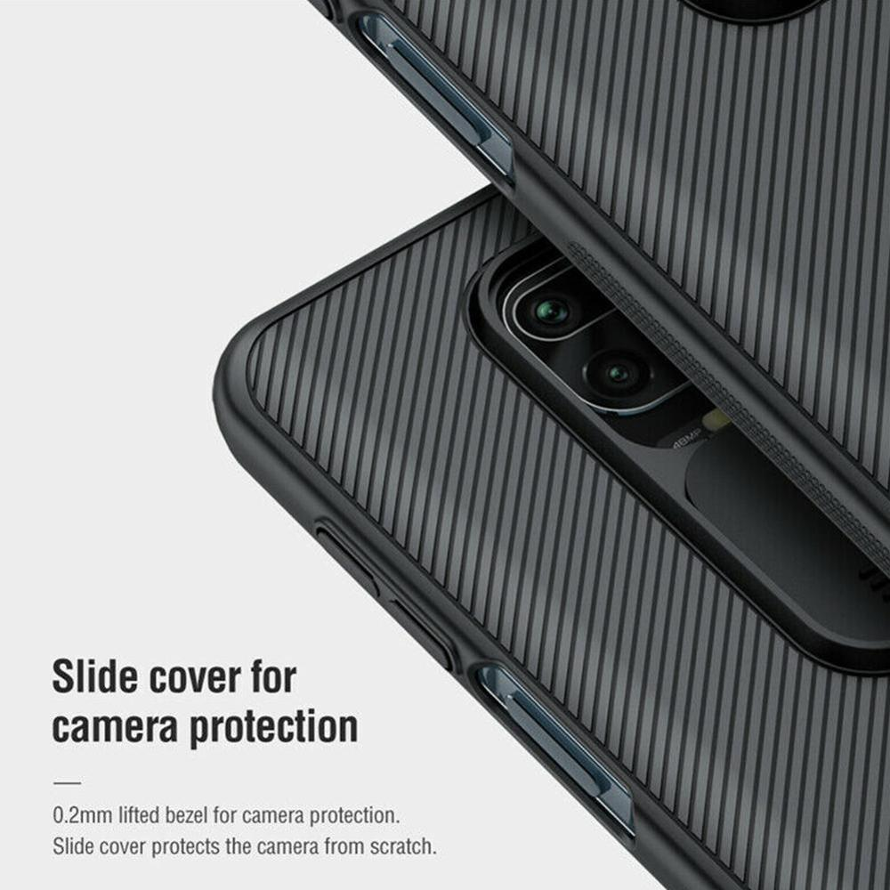 For Xiaomi Redmi Note 9 Pro/Note 9 Pro Max/Note 9S Protective Lens Slide Nillkin Case Dropshipping Cover Camera Plastic Cas U0Q4
