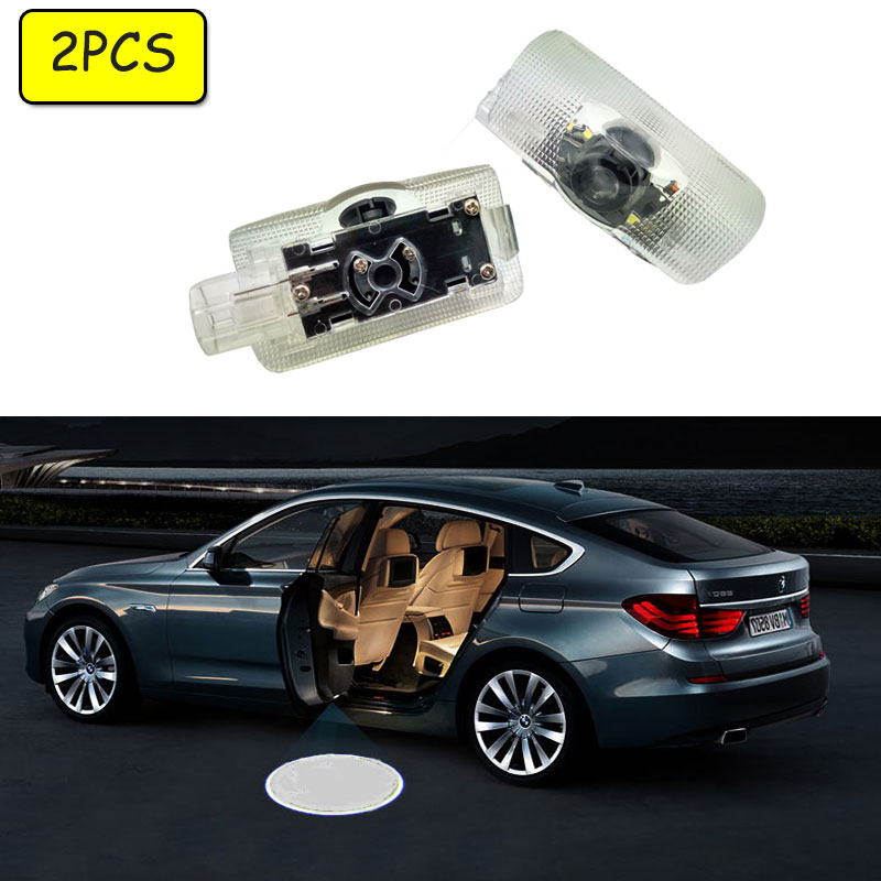 Car Door Welcome Projector LED Lights For LEXUS ES GS 300/400/430 GS 350/450h HS IS LS LX RX SC Logo Light Ghost Light