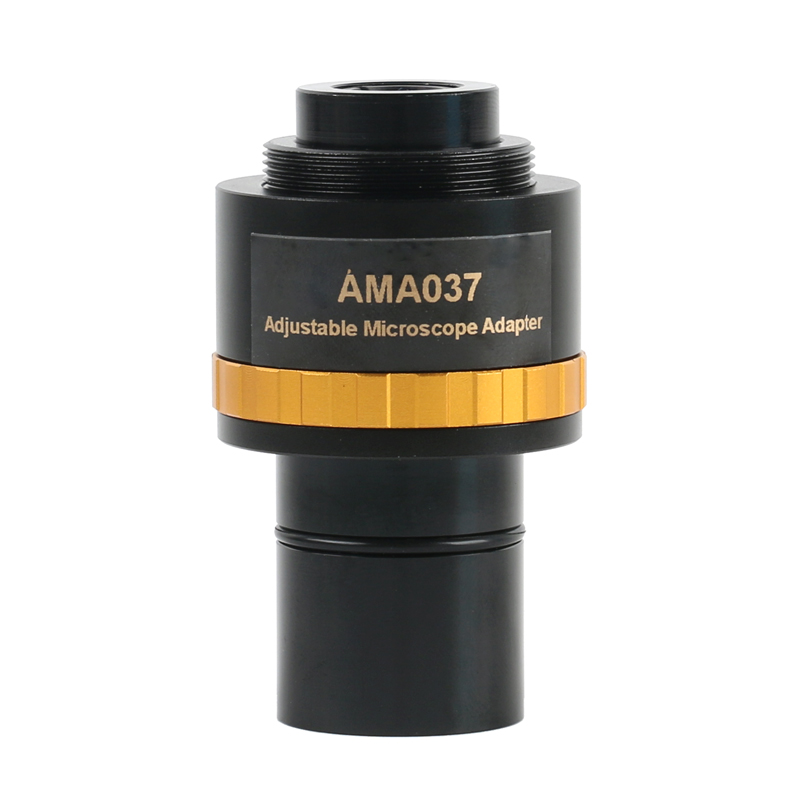 For Focusable 2mm Mount 0 Eyepiece Adapter Lens Microscope 0 5X Video 75X 0 Interface Electronic To Microscope 37X Camera C 23