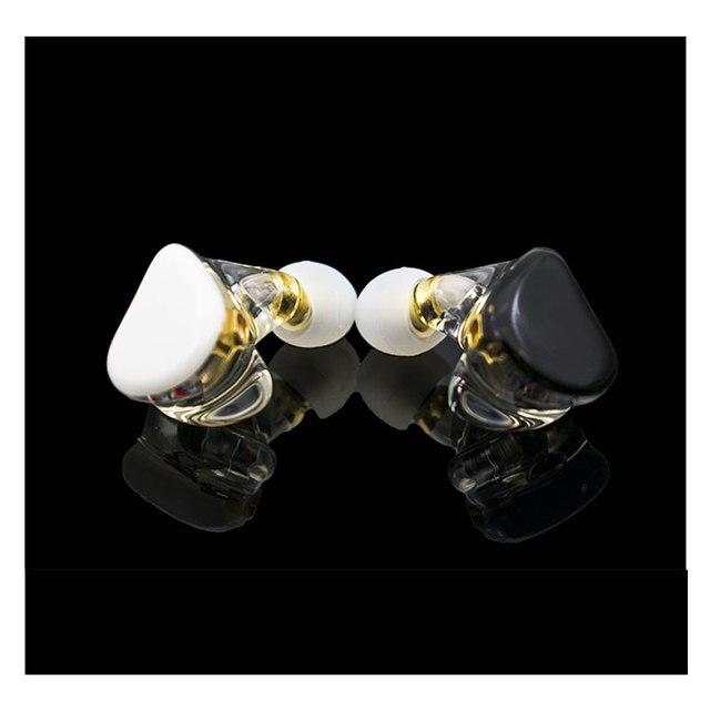 MMCX TD08 היי Res אוזניות HIFI היברידי אוזניות 1BA + 1DD אוזניות עוצמה סטריאו אוזניות תפור לפי מידה Dj צג אוזניות