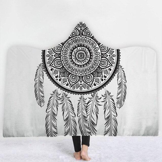 3D Cosmos Hooded Blanket 6