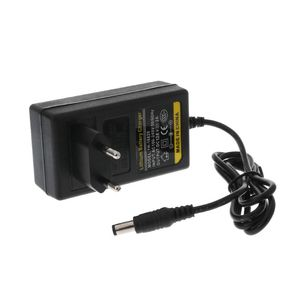 Image 4 - Chargeur de batterie 12.6V DC 2A Intelligent Lithium li on adaptateur secteur ue US prise transformateur