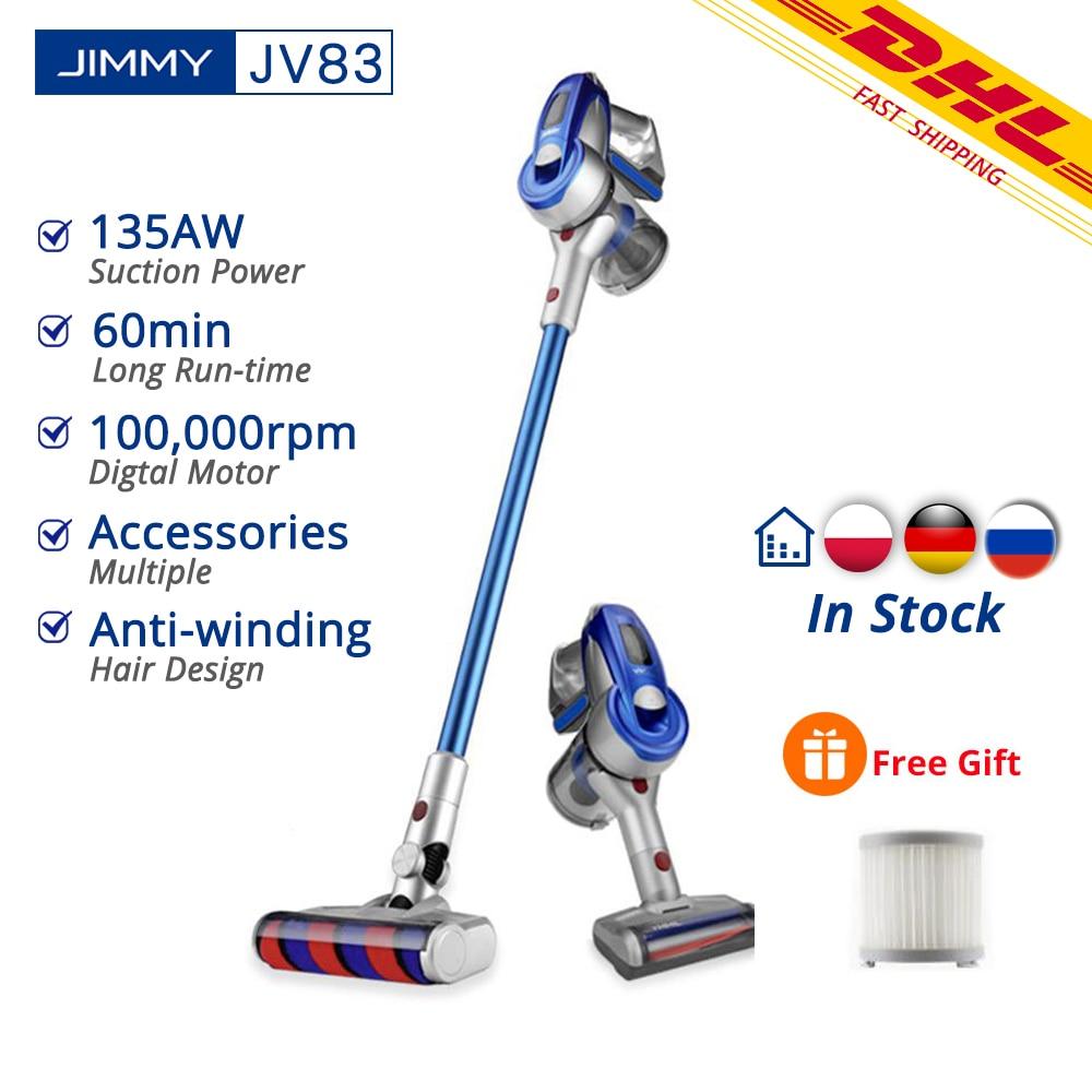 [Free Duty]Xiaomi JIMMY JV83 Vacuum Cleaner Wireless Handheld Cordless Stick Vacuum Cleaner 20kPa VS JIMMY JV53