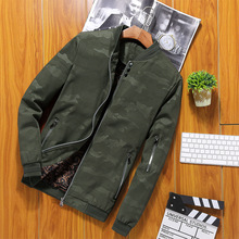 2019 Mens Fashion Military motorcycle Outerwear Large Size 5XL Windbreaker Thin Jackets aviator pilot Air men bomber jacket