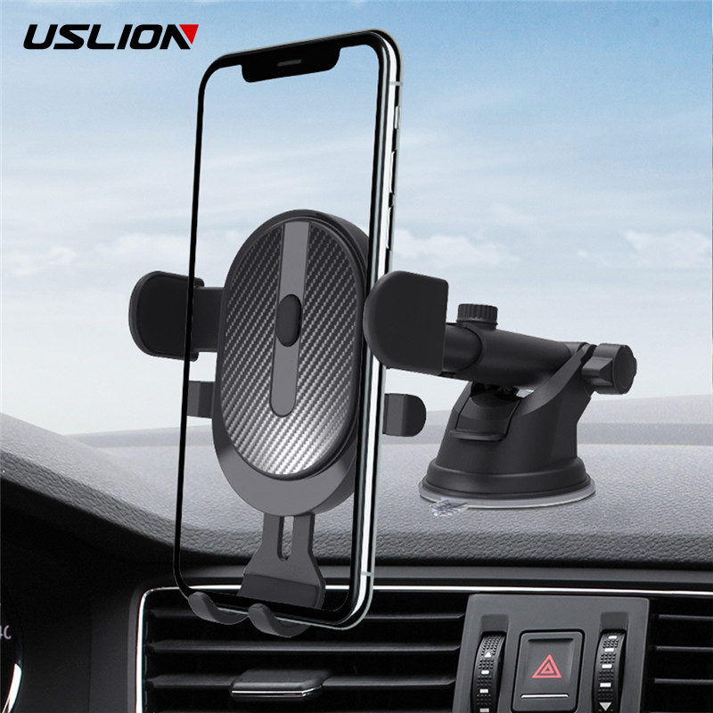Adjustable Suction cup telePhone Car Stand Holder Mobile accessories Mobile Smartphone navigation support For iPhone Xiaomi mi9