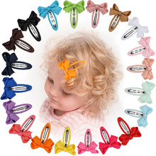 20/12 pcs Children's Hair Clip Cute Fashion Baby Girl Mini Bow Multicolor Clip Sweet Girl Hair Accessories pince cheveux