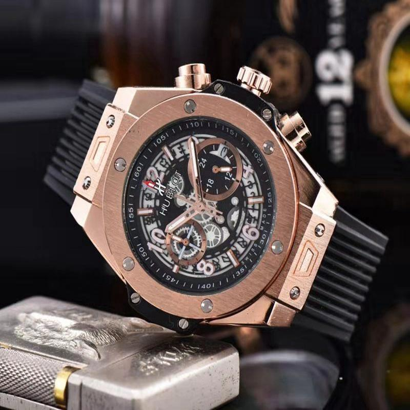 NEW Luxury Brand Mechanical Wristwatch Mens Watches Quartz Watch With Stainless Steel Strap Relojes Hombre Automatic 698