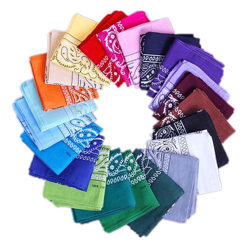 Bandana Square Scarf 55cm*55cm Headband Printed For Women/Men/Boys/Girls 2