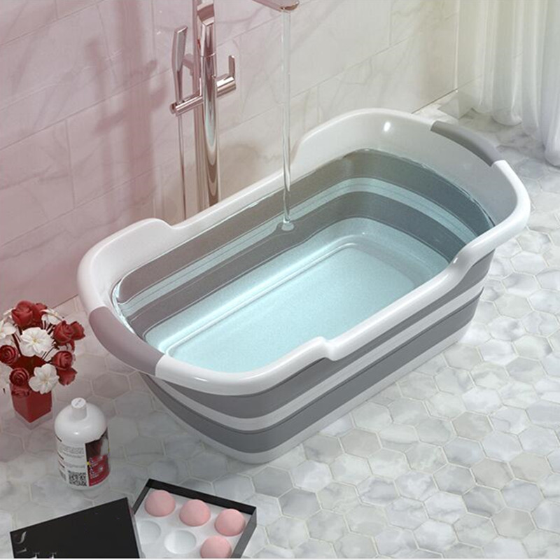 Good Quality Folding Baby Bath Tub Made Of PP And TRP Material For Safe Bath Of Children 5