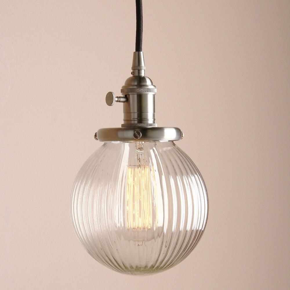 de vidro pingente teto lâmpadas pingente luzes