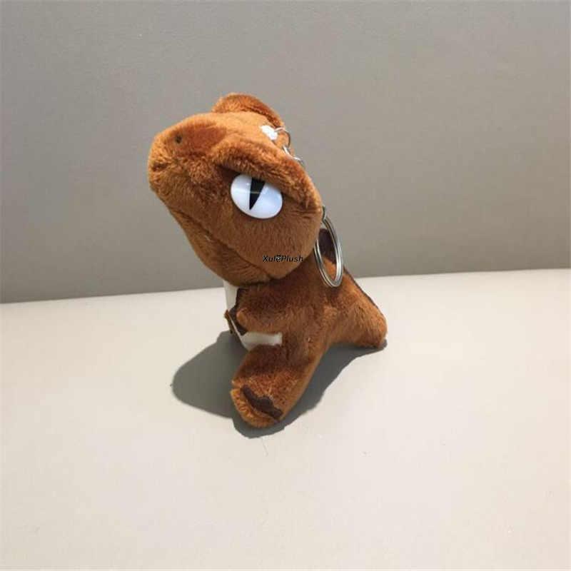 3 colori-10 CENTIMETRI di Altezza Ca. Dinosauro Keychain Della Peluche Ripiene DOLL TOY, drago Figura Morbido Peluche Giocattolo