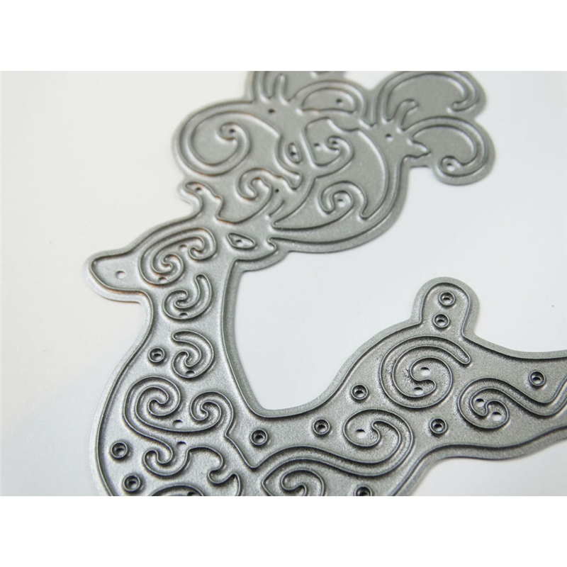 YaMinSanNiO Deer Dies Scrapbooking Metal Cutting New Dies for 2019 Animal Craft Dies Cuts Card Making Stencils DIY Embossing in Cutting Dies from Home Garden