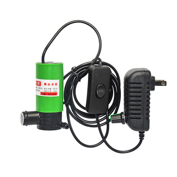HYS Water Pomp 30W AC 220V Transformer DC 12V Submersible 12 V Volt Mini Water Pumps Adjustable With pipe Water drill cutter hys dc water pomp 6v 12v diaphragm pump vacuum 12 v volt spray electric pumps for drinking diy hydraulic miniature klc