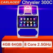 2 din araba radyo 2Din Android Autoradio multimedya oynatıcı otomatik ses Chrysler Aspen için 300C 2004 2005 2006 2007 2008 GPS wifi 4G
