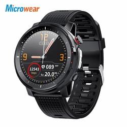 Мужские Водонепроницаемые Смарт-часы Microwear L15 с измерением пульса и давления