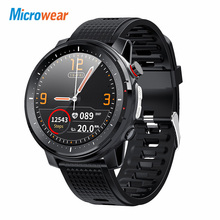 Мужские Водонепроницаемые Смарт часы Microwear L15 с измерением пульса и давления
