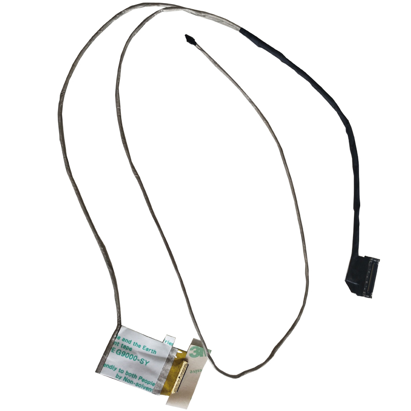 LCD LED Video Flex Cable For <font><b>LENOVO</b></font> G70-<font><b>70</b></font> G70-80 G70-30 G70-45 G70-<font><b>50</b></font> ailg1 Display Screen Cable P/N:dc02001mn00 dc02001mn20 image