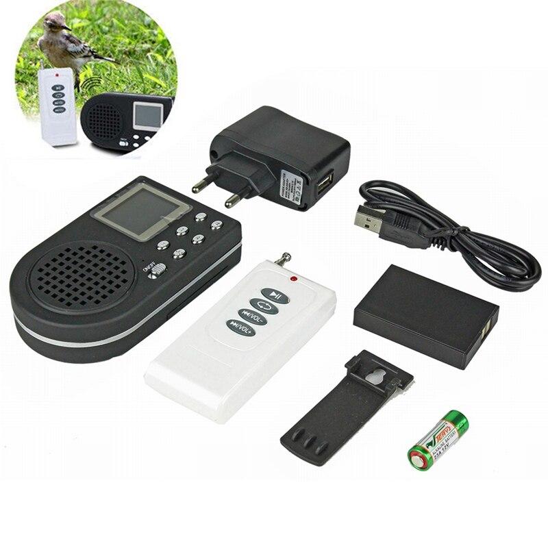 Bird Caller Mp3 Player Decoy Sound Loud Speaker Wireless Eu Plug