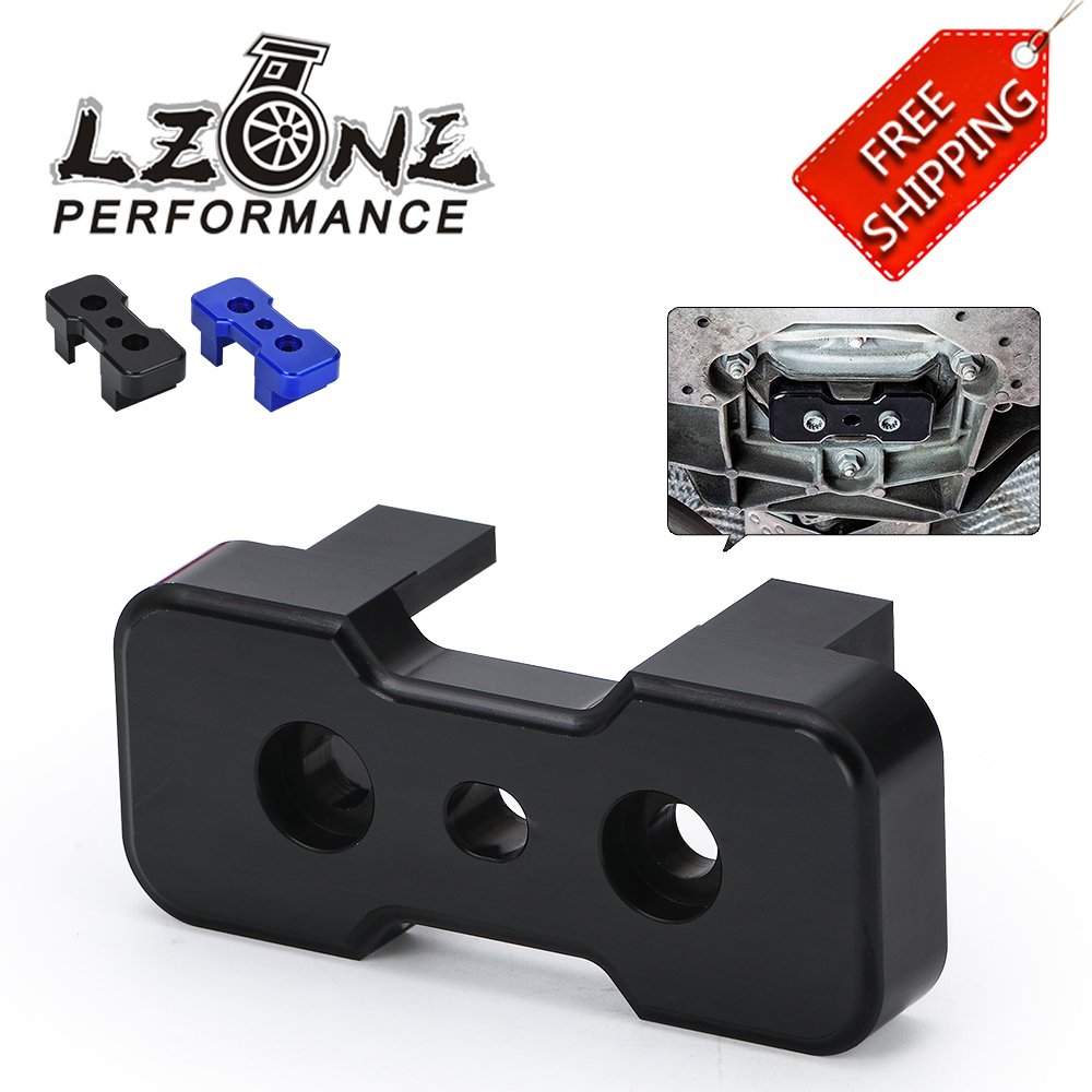 Aluminum Transmission Mount Insert For S-Tronic Manual For B8 Chassis Audi Blue