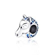New Arrival 100% New Beads, Nokk Horse Charm Charms fit Original Pandora Bracelets Women DIY Jewelry 100% new original dta144eua t106 dta144euat dta144