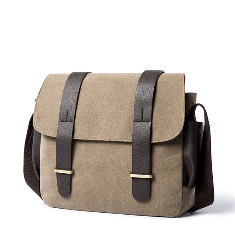 HORIZONPLUS New Men's WATERPROOF VINTAGE  Canvas MESSENGER BAG SHOULDER BAG
