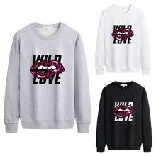 Женские толстовки размера плюс повседневные свободные пуловеры