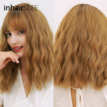 INHAIR CUBE Synthetic Wigs Heat Resistant 16