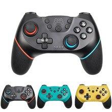 Manette de jeu sans fil Bluetooth pour Nintendo Switch, Joystick pour Console NS Pro/PC