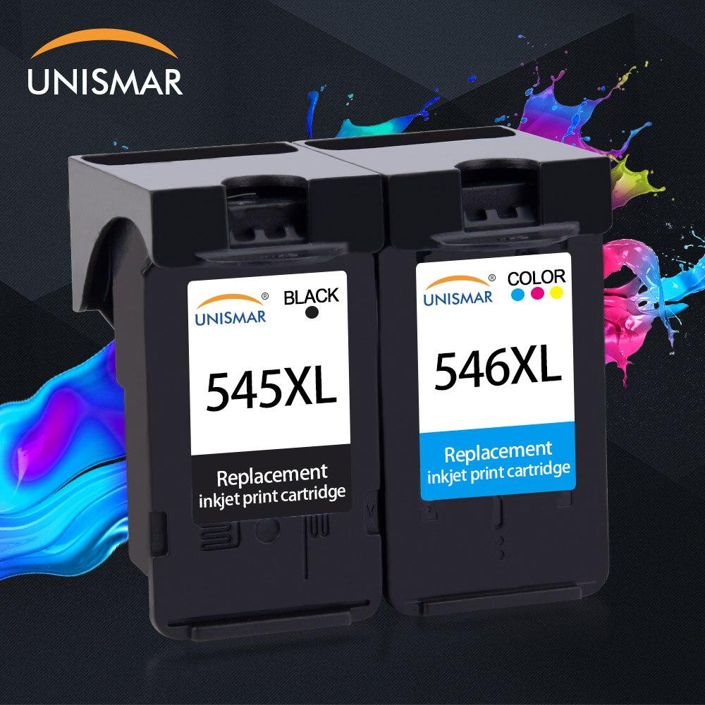 Unismar PG545 CL546 encre noir cartouche tricolore pour Canon PG 545 CL 546 Pixma IP2850 MX495 MG2450 MG2550 MG2950 NS28 imprimante