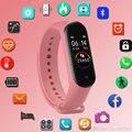 Цифровые умные часы для женщин и мужчин  умные часы для Android  IOS  электроника  умные часы  фитнес-трекер  силиконовый ремешок  умные часы  часы