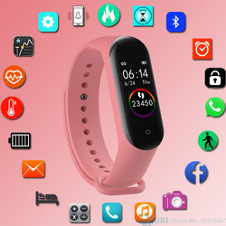 Digital Smart Watch Women Men Smartwatch For Android IOS Electronics Smart Clock Fitness Tracker Silicone Strap Smart-watch Hour