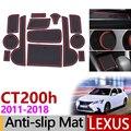 Противоскользящий резиновый коврик для ворот для Lexus CT200h 2011 2012 2013 2014 2015 2016 2017 2018 A10 Lexus CT 200h аксессуары