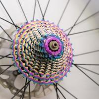 Ultralight Road Bike 12 Speed SLR2 Cassette 11 32/34T Colorful Bicycle Flywheel Gravel Bike Freewheel Rainbow Cassette Sprocke