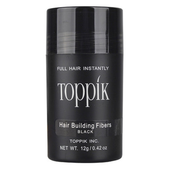 0.42oz 12g Toppik Keratin Hair Building Holding Fibers Hair Full Hair Loss Products Hair Care treatment Instant Wig Regrowth