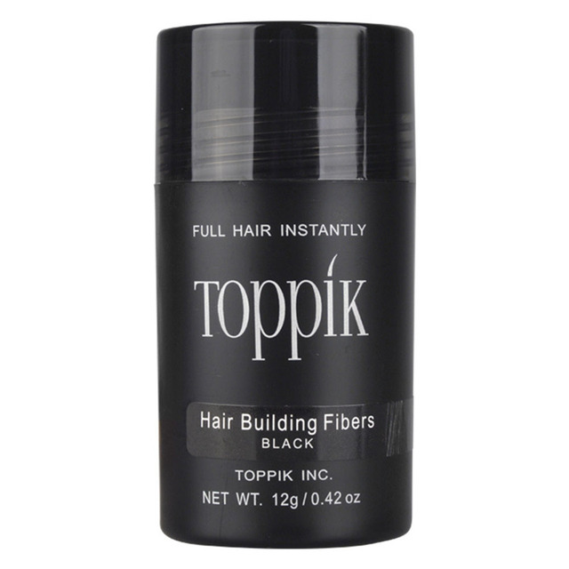 0.42oz 12g Toppik Keratin Hair Building Holding Fibers Hair Full Hair Loss Products Hair Care treatment Instant Wig Regrowth